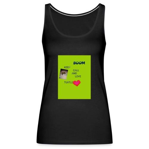 Keep call and love turtle - Naisten premium hihaton toppi