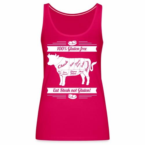 Lustiges Design für Fleisch-Fans - Frauen Premium Tank Top