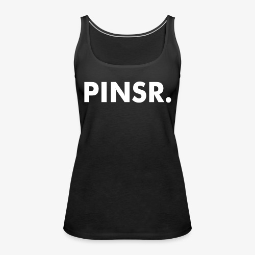 PINSR. Black - Vrouwen Premium tank top