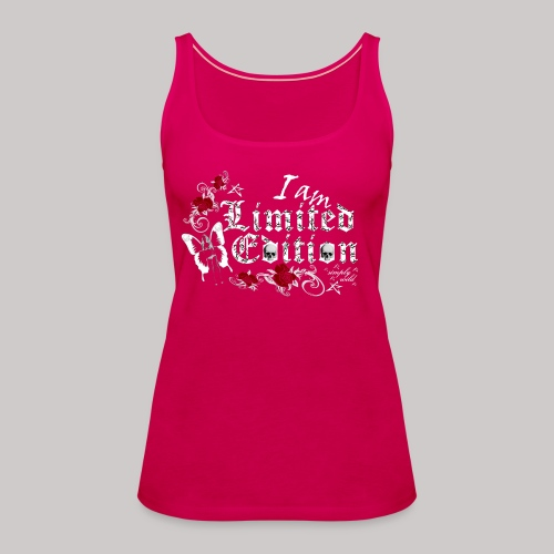 simply wild limited edition on black - Frauen Premium Tank Top