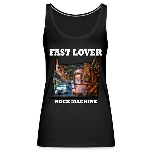 Fast Lover - Rock Machine - Frauen Premium Tank Top