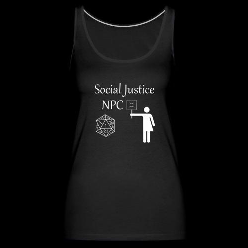 Social Justice NPC - Women's Premium Tank Top