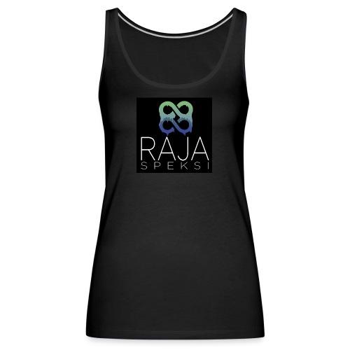 RajaSpeksin logo - Naisten premium hihaton toppi