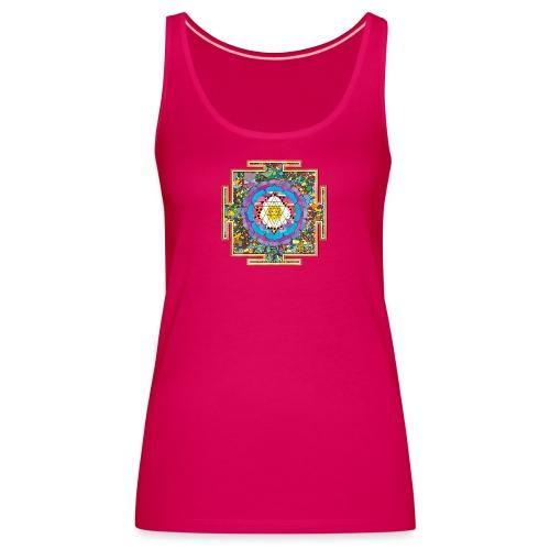 buddhist mandala - Women's Premium Tank Top