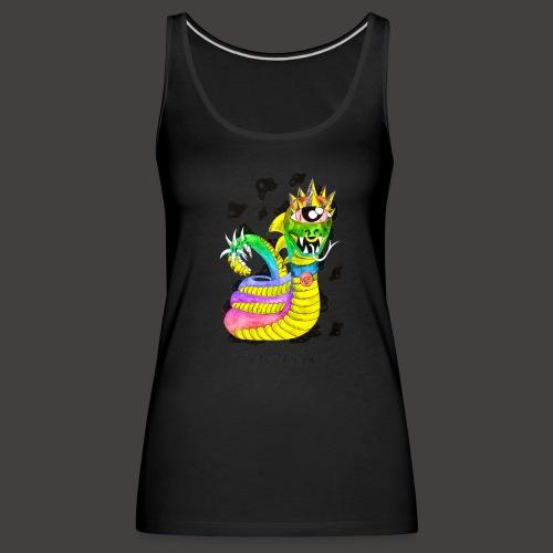 serpentaire multi-color - Débardeur Premium Femme