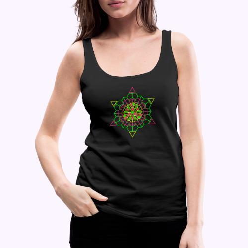Cosmic Crystal Front - Camiseta de tirantes premium mujer