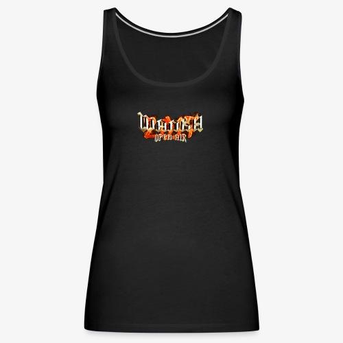 Wanka Open Air 2017 Muerte al Falso Metal - Camiseta de tirantes premium mujer