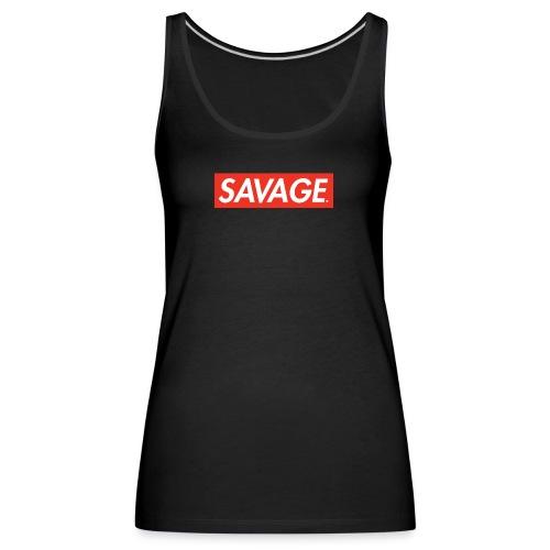 Savage. RedBox - Premium singlet for kvinner