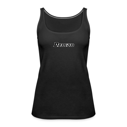 Demon Clan Simples Design - Frauen Premium Tank Top