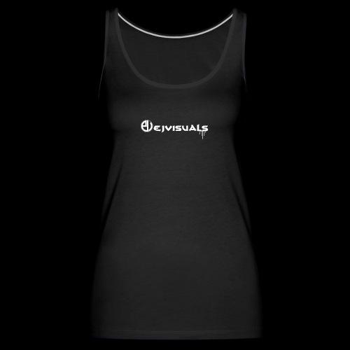 - EJVisuals Logo - Vrouwen Premium tank top