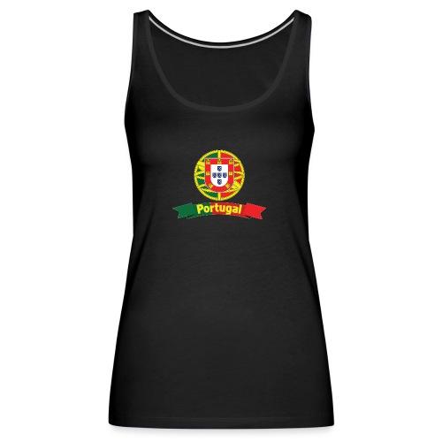Portugal Campeão Europeu Camisolas de Futebol - Women's Premium Tank Top