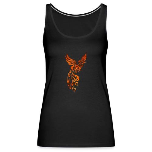 Phoenix textured lge png - Women's Premium Tank Top