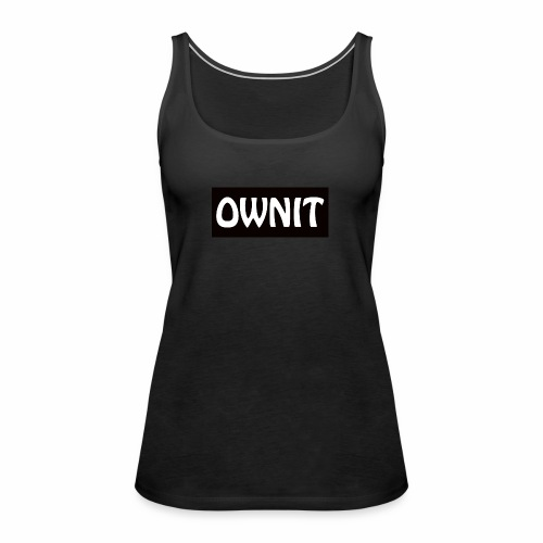 OWNIT logo - Women's Premium Tank Top