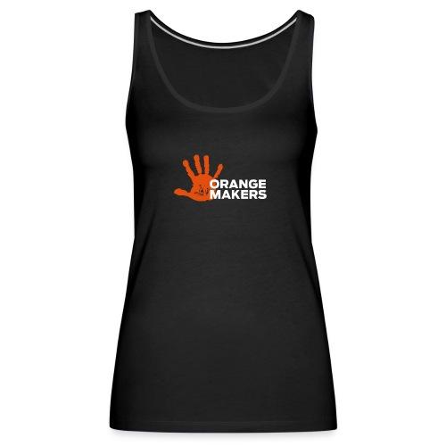 Orange Maker (Hvid tekst) - Dame Premium tanktop