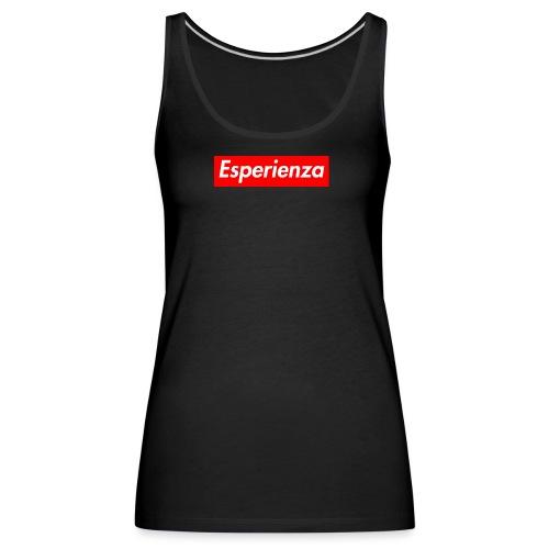 Esperienza logo box - Canotta premium da donna