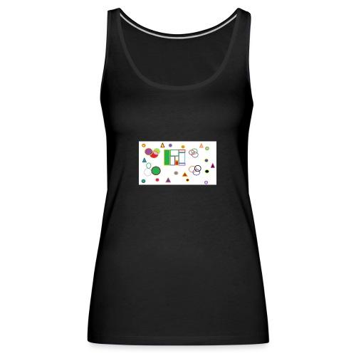 Geometric Figures - Camiseta de tirantes premium mujer