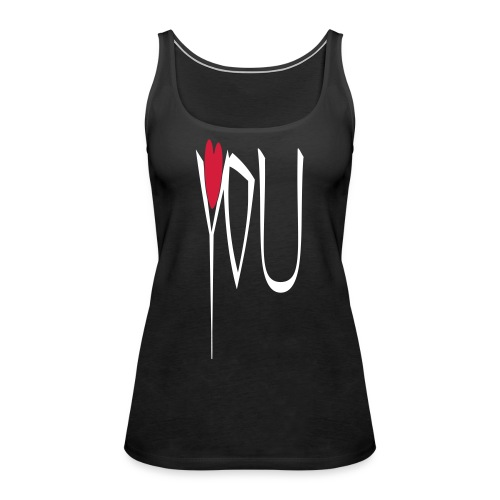 love you - Frauen Premium Tank Top