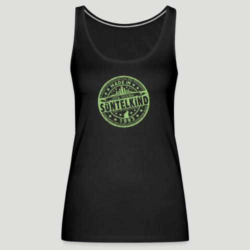 SÜNTELKIND 1993 - Das Süntel Shirt mit Süntelturm - Frauen Premium Tank Top
