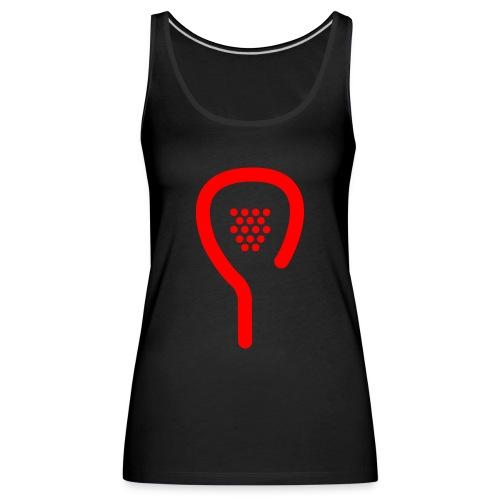 raquette rouge - Débardeur Premium Femme