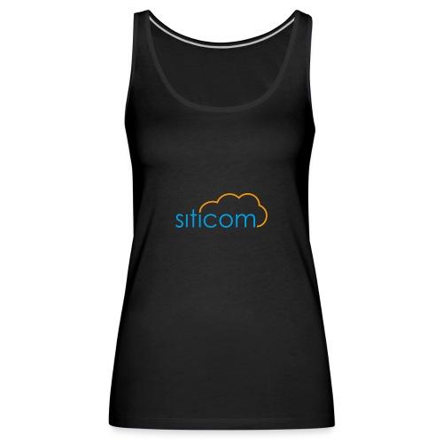 logo siticom - Frauen Premium Tank Top