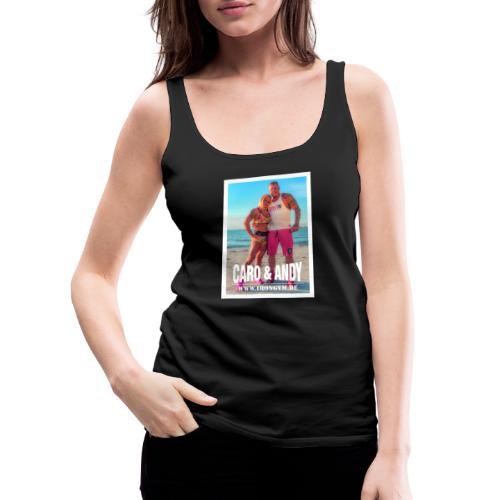 caro andy 01 - Camiseta de tirantes premium mujer