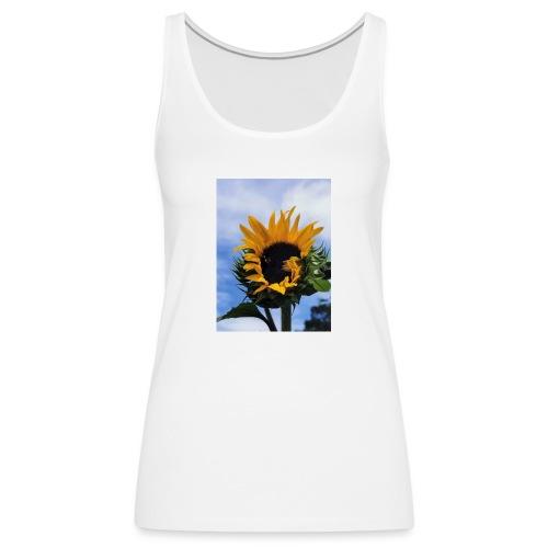 Girasoles - Camiseta de tirantes premium mujer