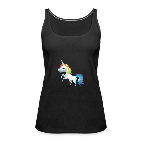 Regenboog eenhoorn - Vrouwen Premium tank top