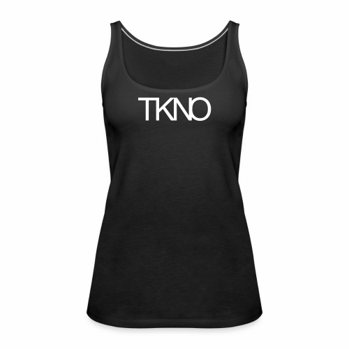 TKNO MNML Techno Minimal dark Tekkno Rave Kind - Frauen Premium Tank Top
