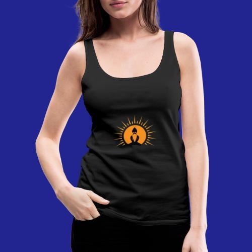 Guramylyfe logo no text black - Women's Premium Tank Top