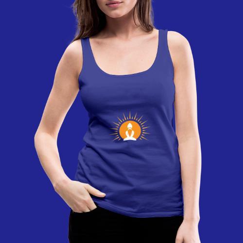 Guramylyfe logo white no text - Women's Premium Tank Top