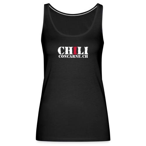Chili con carne - Frauen Premium Tank Top
