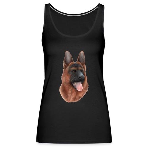 PERRO SIN FONDO - Camiseta de tirantes premium mujer