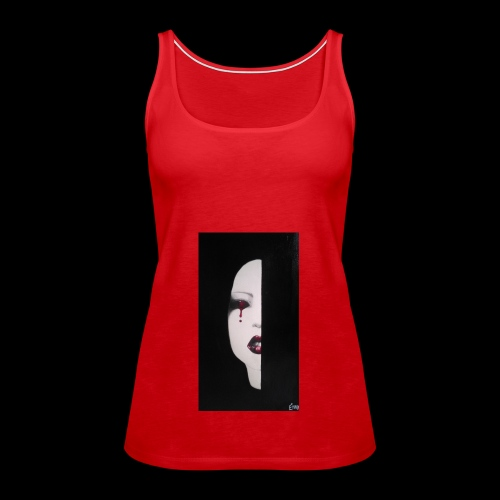 BlackWhitewoman - Canotta premium da donna