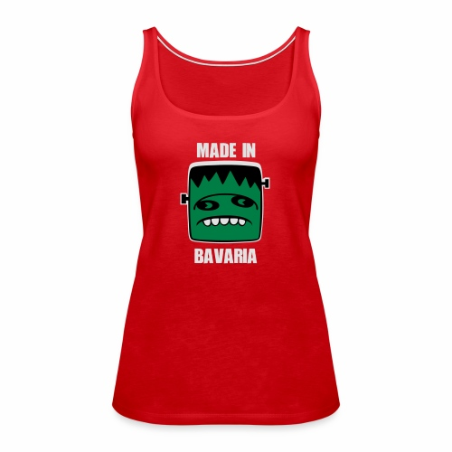 Fonster weiß made in Bavaria - Frauen Premium Tank Top