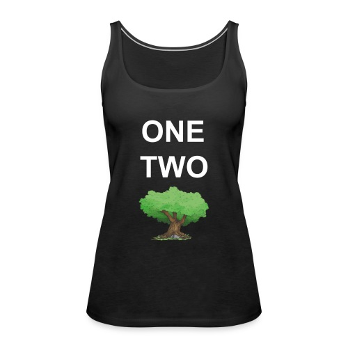 One Two Tree - Frauen Premium Tank Top