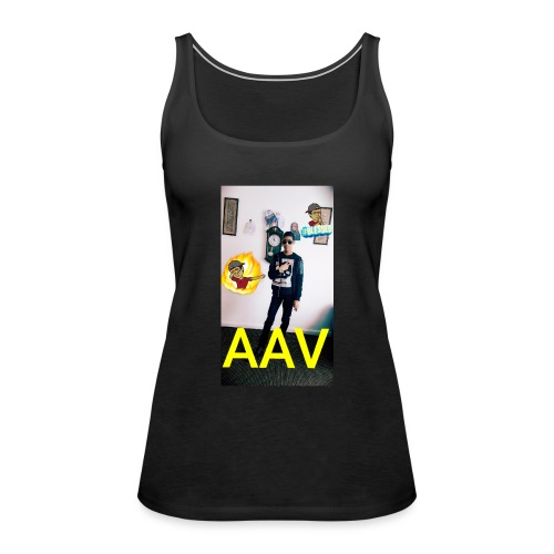 Adam Ali Vlogs Design 1 - Women's Premium Tank Top