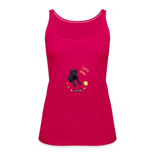 Giant Schnauzer puppy - Women's Premium Tank Top