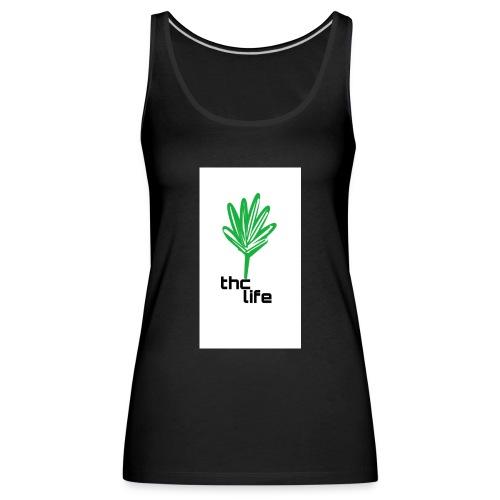 thc Life - Camiseta de tirantes premium mujer