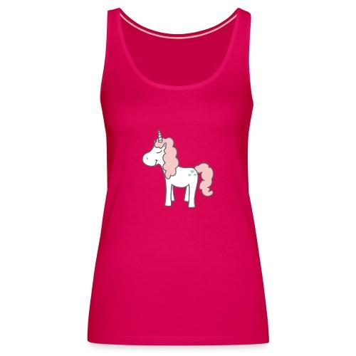 unicorn as we all want them - Dame Premium tanktop