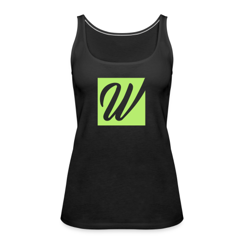 W only W!!!! - Frauen Premium Tank Top
