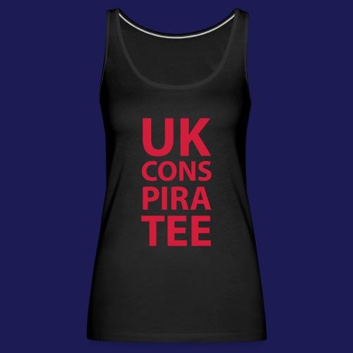 uk conspiratee 1c - Women's Premium Tank Top