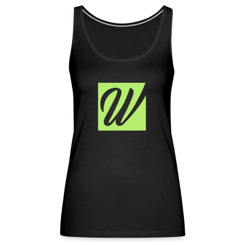 W only W!!!! - Frauen Premium Tank Top