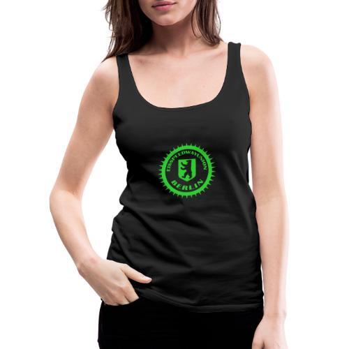 Eisspeedwayunion Logo grün zweiseitig - Frauen Premium Tank Top