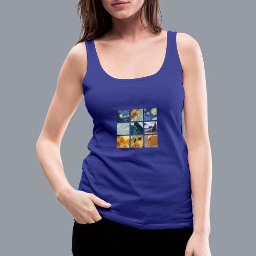 VAN GOGH COLLAGE - Camiseta de tirantes premium mujer
