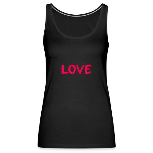 pink love - Vrouwen Premium tank top