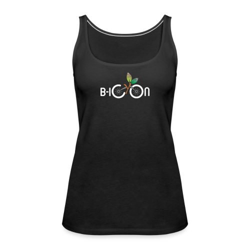 B-Icon Logo (Dark Colored Items) - Vrouwen Premium tank top