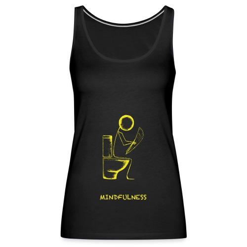 Mindfulness t-shirt - Women's Premium Tank Top