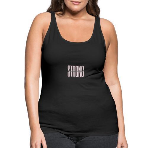 Strong and beautiful - Frauen Premium Tank Top