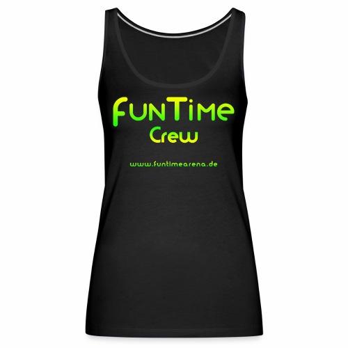 FunTime_Crew_Logo - Frauen Premium Tank Top