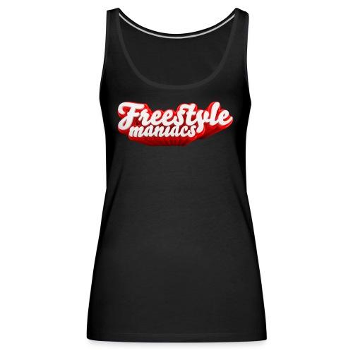 Freestyle Maniacs red - Vrouwen Premium tank top